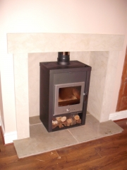 Yeoman Elegance 210 Wood Burning Stove, Southport, Merseyside
