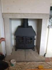 Yeoman Exe Low Canopy Multi-Fuel Stove, Mere Brow, Southport, Merseyside
