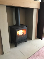 ACR Earlswood Limestone Chamber Oak Beam Preston Lancashire