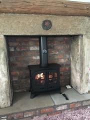 Yeoman Exe Traditional Stone Fireplace Croston Lancashire