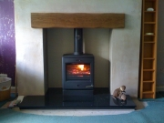 Yeoman CL5 Multi-Fuel Stove, Brinscall, Chorley, Lancashire