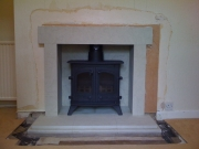 Yeoman Devon Flat Top Multi-Fuel Stove, Formby, Merseyside
