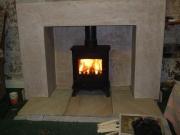 Yeoman Exmoor Wood Burning Stove, Burscough, Ormskirk, Lancashire