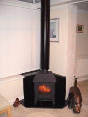 Stovax Stockton 5 with Canopy,Wigan, Lancashire