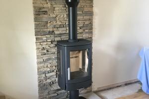ACR Neo 3P, Limestone Hearth Tiled Back Panel Preston Lancashire