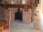 Yeoman Devon Double Sided Single Depth Flat Top Multi-Fuel Stove, Preston, Lancashire