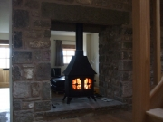 Yeoman Devon Double Sided Single Depth Low Canopy Multi-Fuel Stove 2, Preston, Lancashire