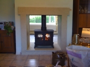 ​Yeoman Exe Double Sided Double Depth Flat Top Multi-Fuel Stove 2, Appley Bridge, Wigan, Lancashire
