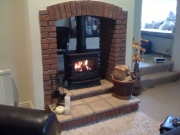 Yeoman Devon Double Sided Single Depth Flat Top Multi-Fuel Stove, Rufford, Ormskirk, Lancashire