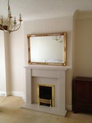 Legend Vantage Gas Fire in Marble Fireplace, Birkdale, Southport, Merseyside