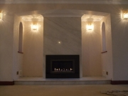 Gazco Studio 1 Open Fronted with Black Granite Fascia 2, Hesketh Bank, Preston, Lancashire