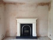 Cast Tec Solid Fuel Integra in Limestone Fireplace 1, Hightown, Formby, Merseyside