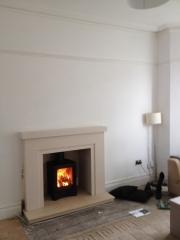 Broseley Evolution 5 Wood Burning Stove 2, Crosby, Liverpool, Merseyside