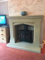 Sandstone Fireplace Yeoman Exe Burscough Lancashire